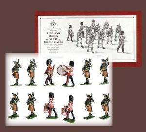 WB00316- The Pipe & Drums of the Irish Guards Limited Edition